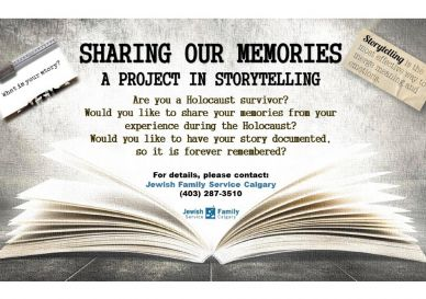 Sharing Our Memories  - A project in storytelling