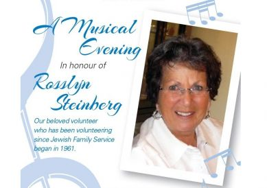 A Musical Evening in honour of Rosslyn Steinberg
