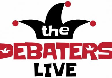 The Debaters Live - Save the Date!